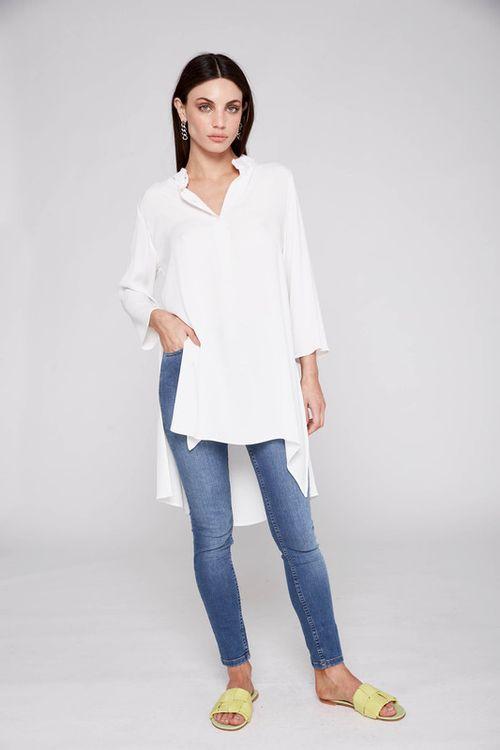 Camisa Gerbera Off White