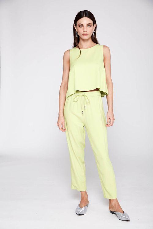 Pantalon Celina Verde