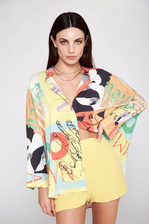 Camisa Pop Estampa