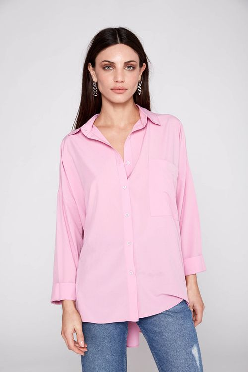 Camisa Tauro Rosa