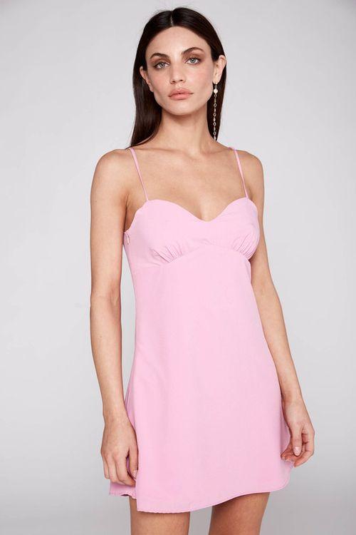 Vestido Tauro Rosa