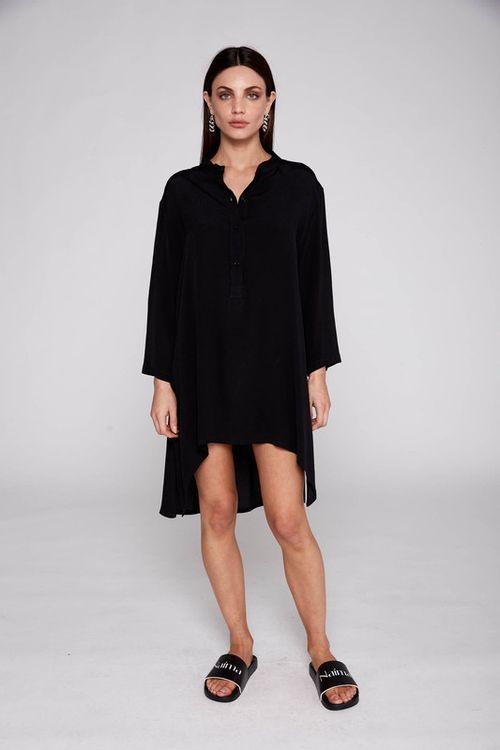 Camisa Gerbera Negra