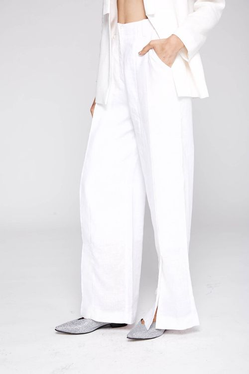 Pantalon Teseo Off White