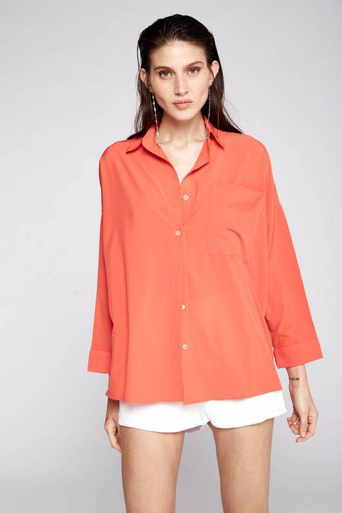 Camisa Tauro Naranja