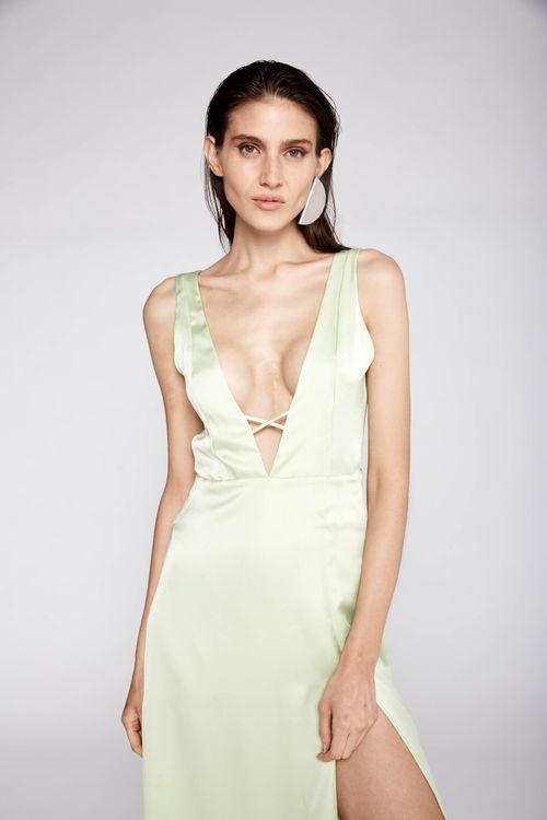 Vestido Julia Verde