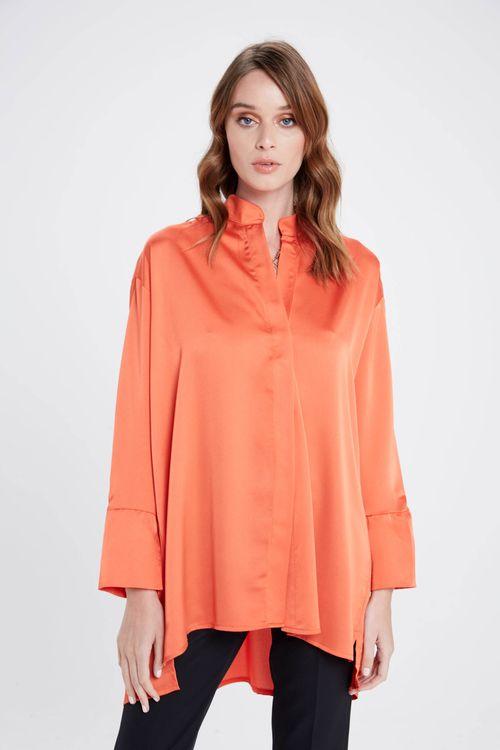 Camisa Cima Naranja