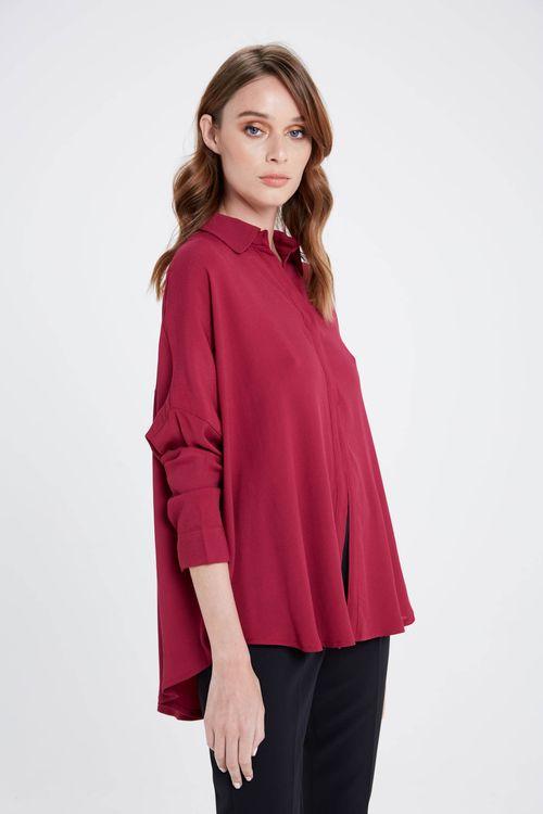 Camisa Galapago Bordeaux