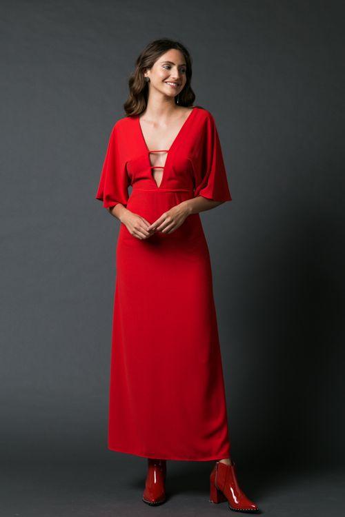 Vestido Zircon Rojo