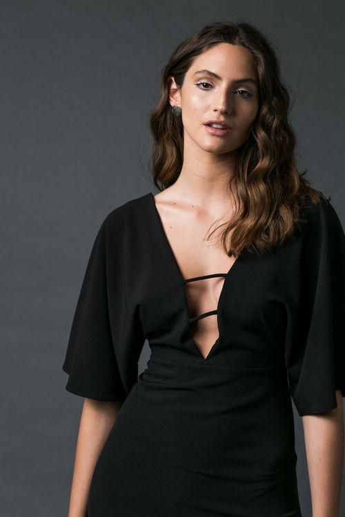 Vestido Zircon Negro